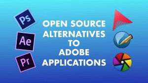 Open Source alternatives to Adobe Products for Linux
