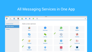 Franz Messenger brings multiple chat services into one app