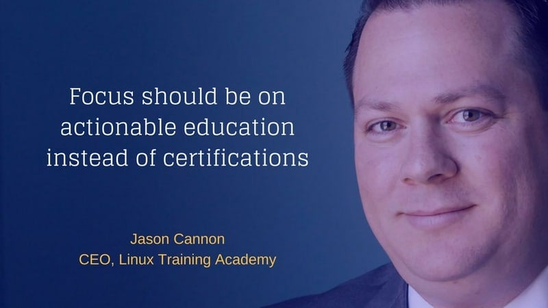 Interview with Jason Cannon of Linux Training Academy
