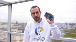 Gael showing eelo open source mobile OS
