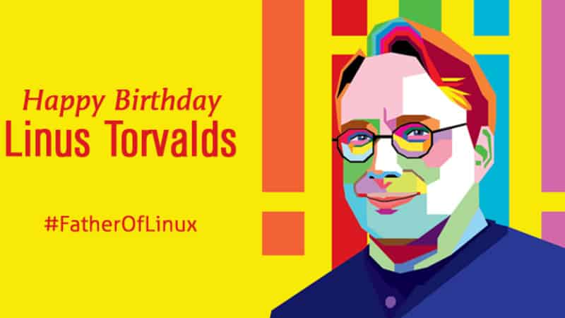 Linus Torvalds Birthday