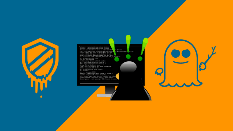 Meltdown Spectre bugs and Lnux