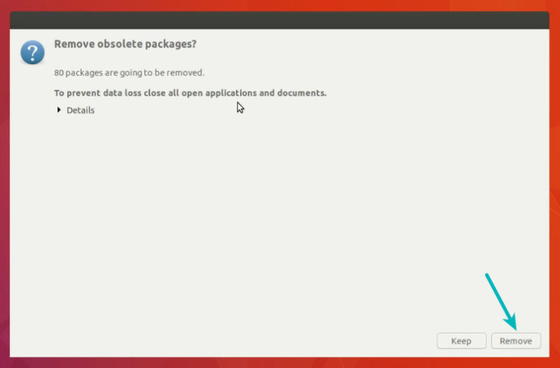 Remove unused packages after Ubuntu upgrade