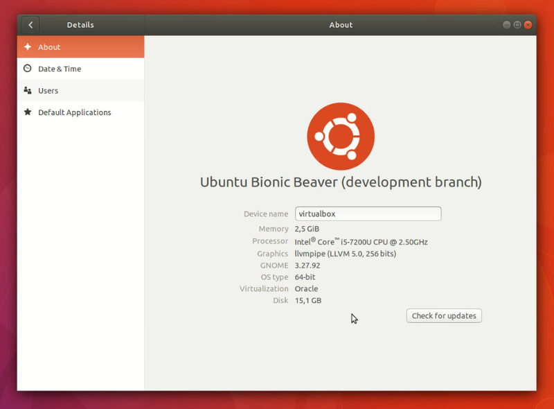 Upgraded to Ubuntu 18.04 beta