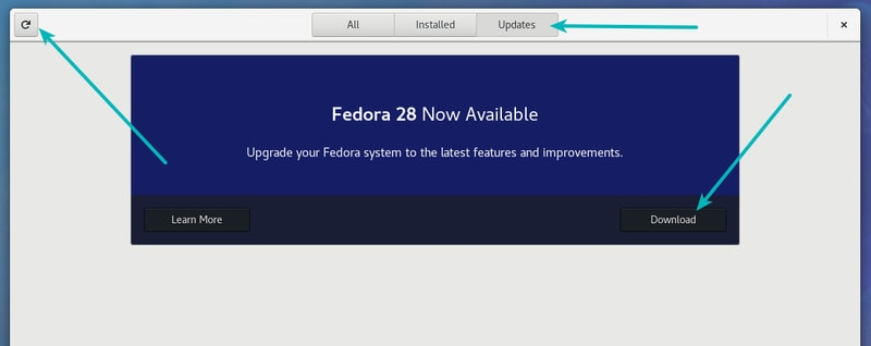 Upgrade Fedora Linux to a newer version