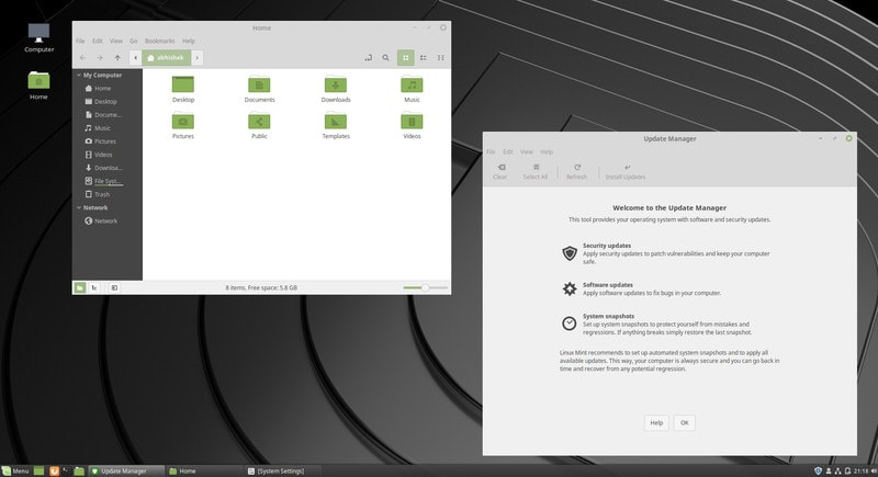 Linux Mint 19 New Look