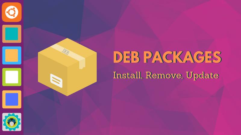Install deb files in Ubuntu