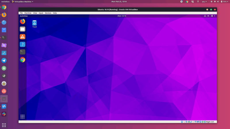 Linux installed inside Linux using VirtualBox