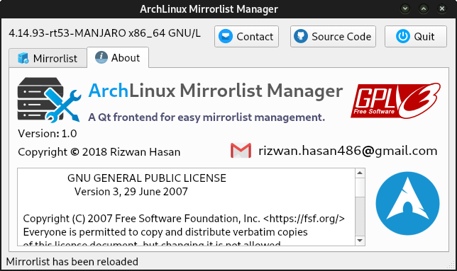 Manage Your Mirrors with ArchLinux Mirrorlist Manager - It's FOSS