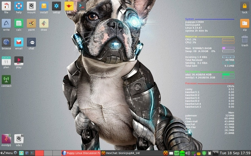 Puppy Linux Bionic