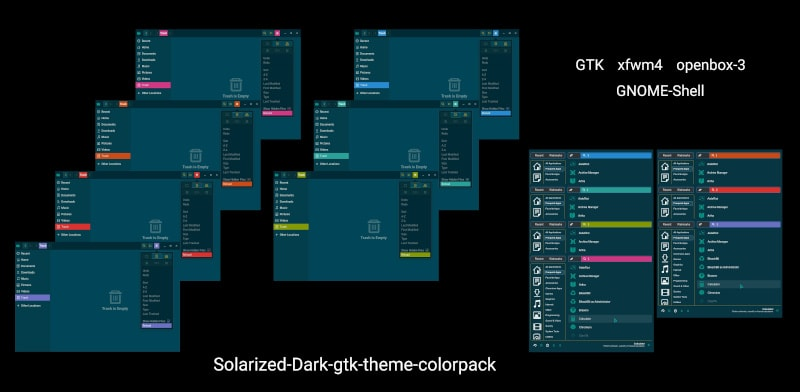 Solarized Gtk Theme