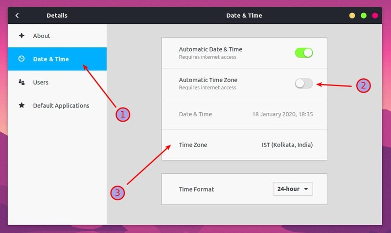 Change Timezone In Ubuntu