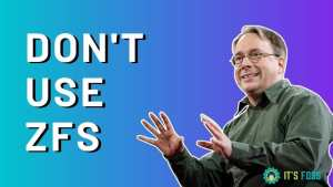 Dont Use Zfs Torvalds