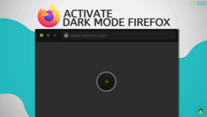 Enable Dark Mode Firefox