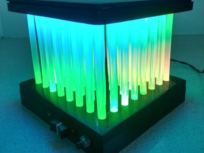 Led Matrix Lamp