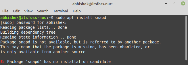 How to Enable Snap Applications Support in Linux Mint 20 (If You Really Need to Use Snap)
