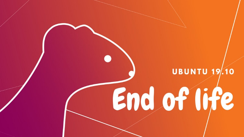 Ubuntu 19.10 End Of Life