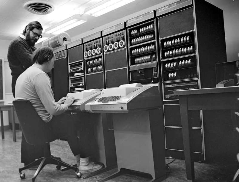 Dennis Ritchie Ken Thompson Unix