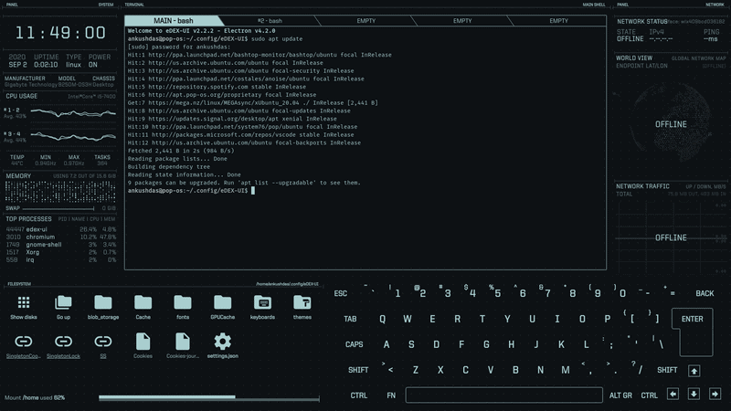 Edex Ui Terminal Screenshot