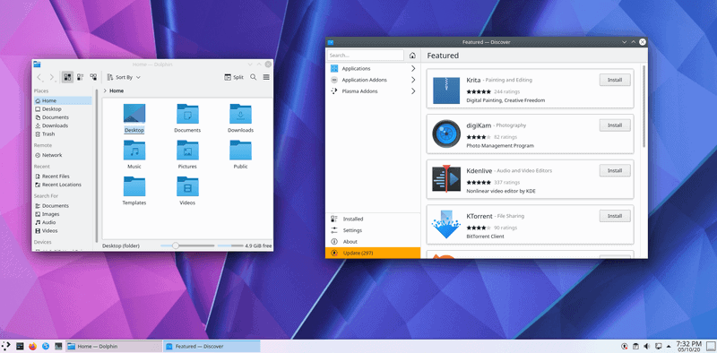 KDE Plasma 5.20 is Here With Exciting Improvements