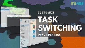 Customize Kde Task Switcher