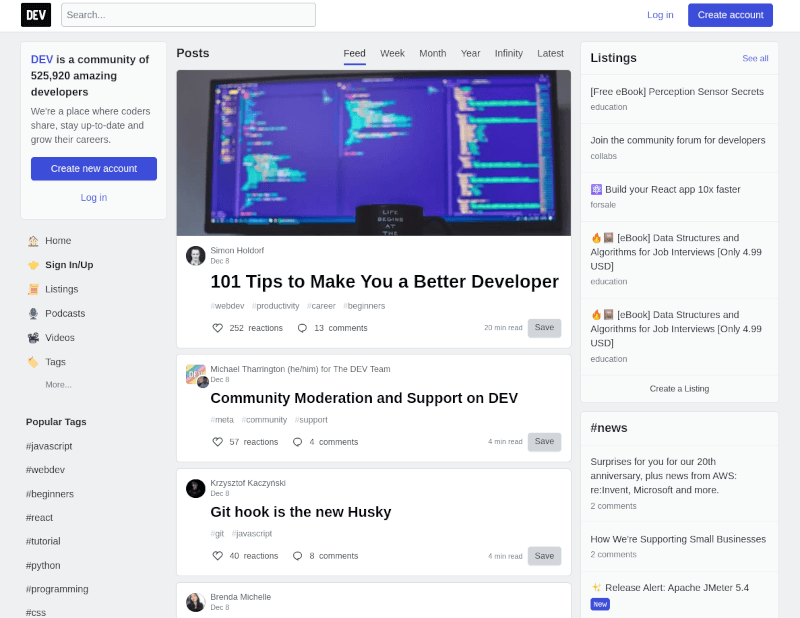 Dev Community Forem