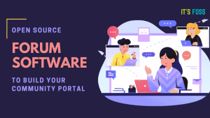 Open Source Forum Software