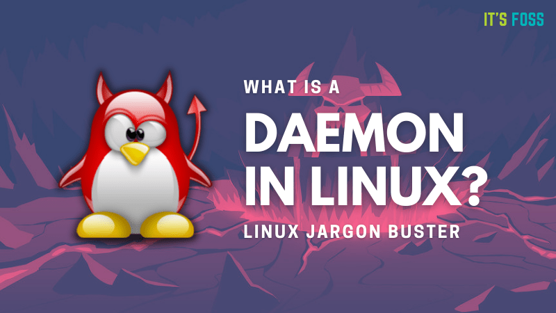 What is a daemon in Linux?