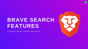 brave search features