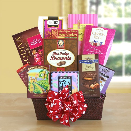 CA Delish Vday Gift Basket