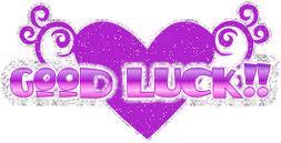 Good Luck Heart Photo