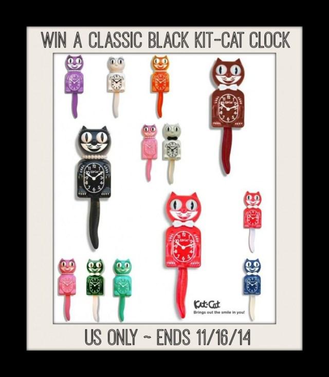 Kit Cat Clock Giveaway