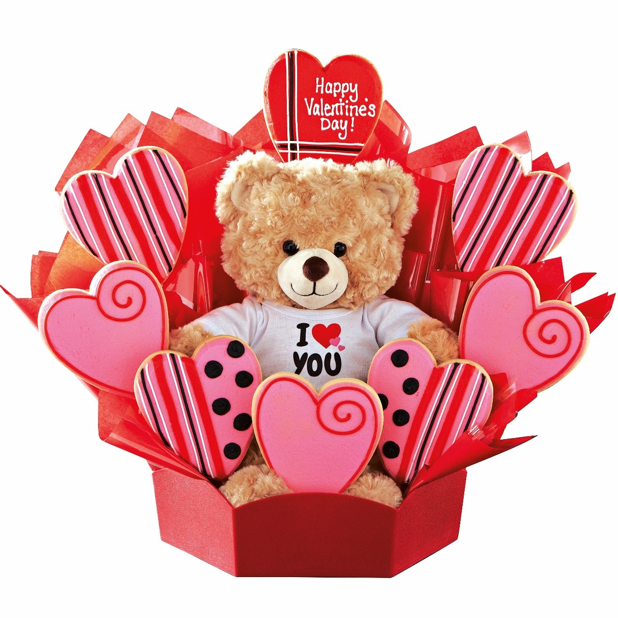 Build A Bear And Cookies By Design Valentines Day Prize