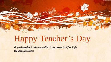 Photo of Teachers are like candles – it consumes itself to light the way for others