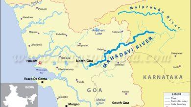 Photo of Mhadei row – Goa reveals Karnataka's water wastage