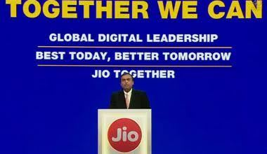 "Photo of ""Jio, Jio"" – a chant on everybody's lips as Ambani launches free JioPhone"