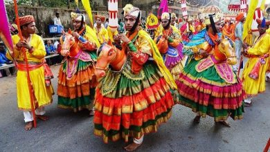 Photo of Shigmotsav is celebrated to herald the arrival of the spring season