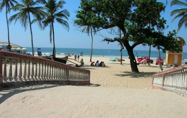 Colva beach in South Goa will soon be one of India's iconic tourist sites.