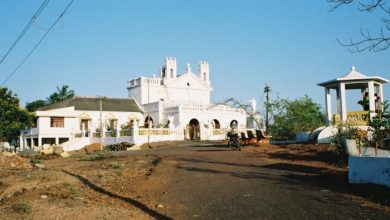 Photo of The church with a magnificent view, St Lawrence Church in Sinquerim