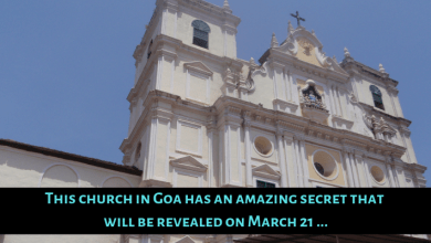 Photo of This church in Goa has an amazing secret that will be revealed on March 21