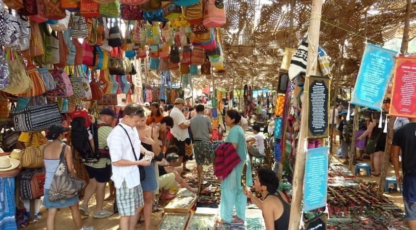colva-beach-market