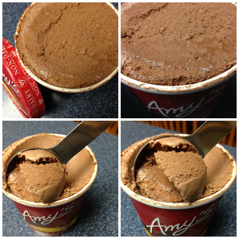 Vegan Chocolate Ice Cream Review - New Amy's Kitchen Product! (2/3)
