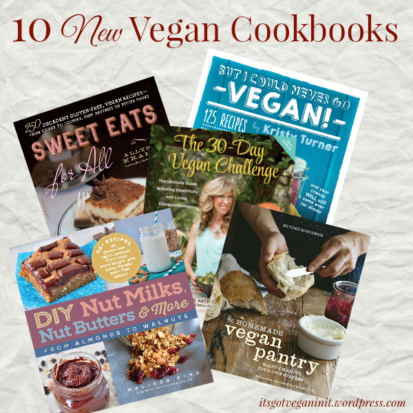 10 Hot Upcoming Vegan Cookbooks You Don't Want to Miss (1/6)