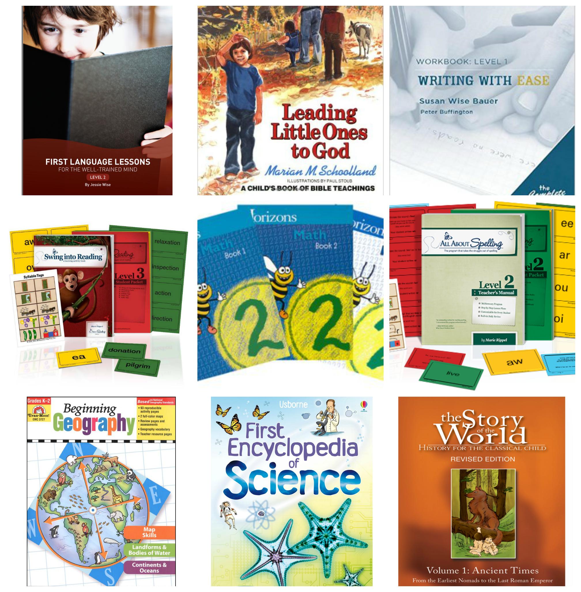 Homeschool Plans 2nd Grade