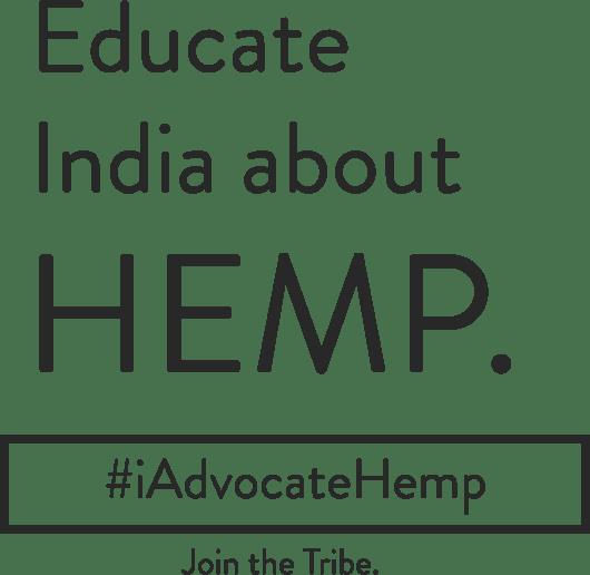 Educate India about Hemp. #iadvocatehemp . Join the tribe.