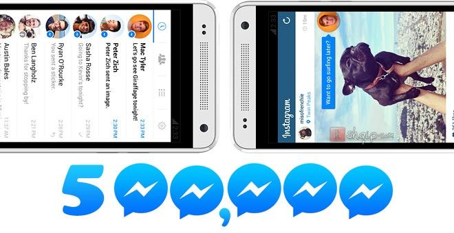 Facebook Messenger arrinë 500 milionë përdorues aktiv