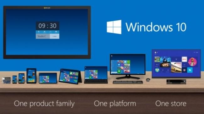 Windows 10 vjen gjatë verës së 2015
