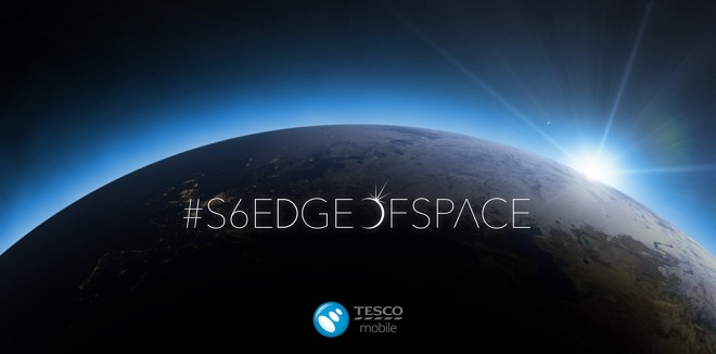 Tesco dërgon një Galaxy S6 në hapësirë për të festuar lansimin1