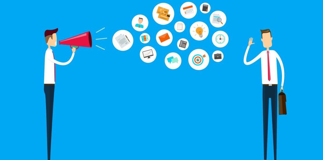 Vista de Comunicación interna entre empresa y trabajador.