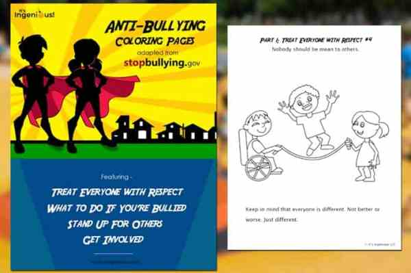 bullying coloring pages # 51